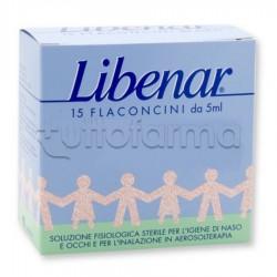 Libenar Soluzione Fisiologica 15 Flaconcini 5 ml