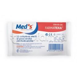 Garza Farmatexa 10 x 10 cm 25 Pezzi