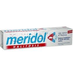 Meridol Halitosis Gel Dentifricio Alitosi Denti e Lingua 75 ml