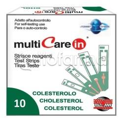Multicare In Strisce Colesterolo 10 Pezzi