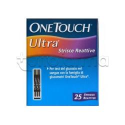 OneTouch Ultra Strisce Reattive Glicemia 25 Pezzi