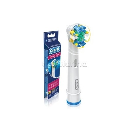 Oral b flossaction testine di ricambio spazzolino elettrico for Oral b porta testine