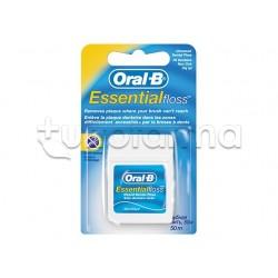 Oral-B Essential Floss Filo Interdentale Non Cerato 50 metri
