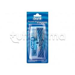 Oral-B Trousse da Viaggio Spazzolino + Dentifricio 25 ml