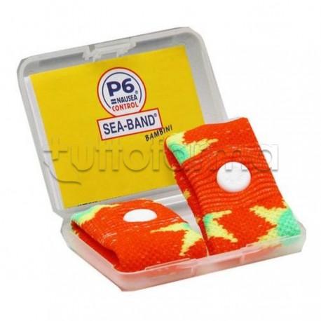 Bracciale Antinausea per Bambini P6 Mal d'auto 2 Pezzi