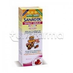 Phytogarda Sanagol Spray Orale Gola Junior 20 Ml