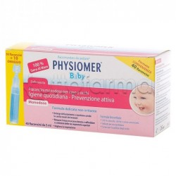Physiomer Baby Acqua Isotonica 40 Flaconcini