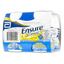 ENSURE COMPACT BANANA 4 BOTTIGLIE 125 ML
