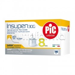 Pic Insupen 30 G 8 MM Aghi Pungidito 100 Pezzi