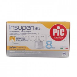 Pic Insupen 31 G 8 Mm Aghi Pungidito 100 Pezzi