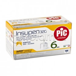 Pic Insupen 32 G 6 Mm Aghi Pungidito 100 Pezzi