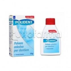 Polident Polvere Adesiva Dentiera 50 Gr