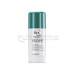 RoC Keops Deodorante Stick Senza Alcool Antitraspirante Anti Odori 40 ml