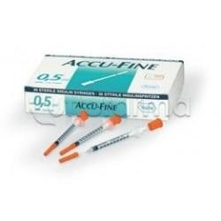 Roche Accu Fine Siringa Insulina 0,5ml 29g x 12,7mm da 30 pezzi