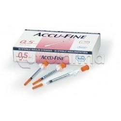 Roche Accu Fine Siringa Insulina 0,5ml 30g x 8mm 30 pezzi