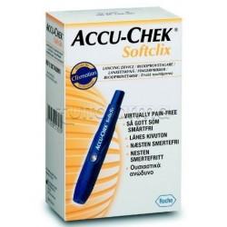 Roche Accu-Chek Softclix Penna Pungidito + 25 Lancette