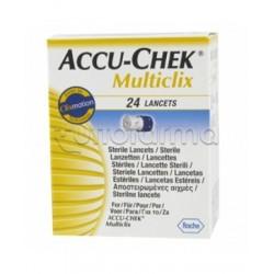 Accu-Chek Multiclix 24 Lancette Pungidito