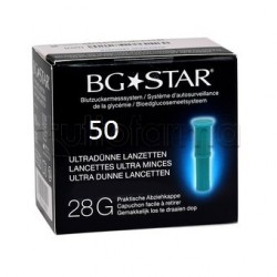 Sanofi Aventis Linea Controllo Glicemia BGStar 50 Lancette Pungidito 28G