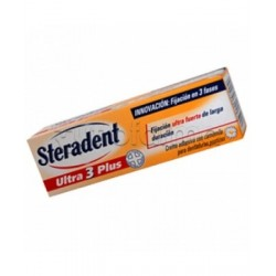 Steradent Ultra 3 Plus Crema Adesiva Per Dentiere 40 Ml