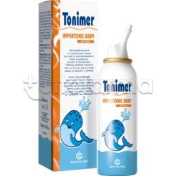 Tonimer Hypertonic Baby Soluzione Ipertonica Nasale Neonati Bambini 100 ml
