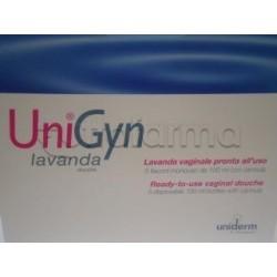 Unigyn Lavanda Vaginale Monouso 5 Flaconi da 100 ml