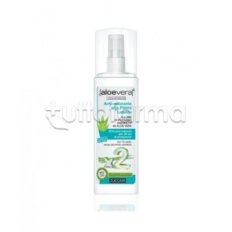 Zuccari Aloevera2 Spray Pietra Liquida Antiodorante 100 Ml