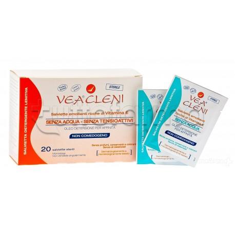 Vea Cleni Salvietta Detergente Lenitiva 20 Salviette Sterili
