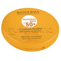 Bioderma Photoderm Max Compact SPF50+/UVA 24 Fondotinta Compatto Protettivo Tinta Chiara 10gr
