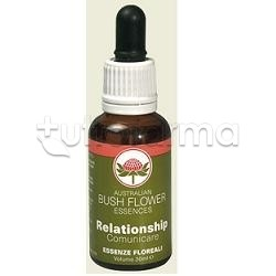Bush Flower Essences Relationship Fiori Australiani 30 Ml