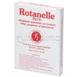 Rotanelle Plus Bromatech Integratore con Probiotici 12 Capsule
