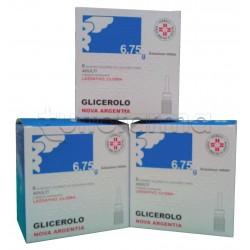 Nova Argentia Microclismi Glicerolo Camomilla e Malva per Stitichezza 6 Clisterini