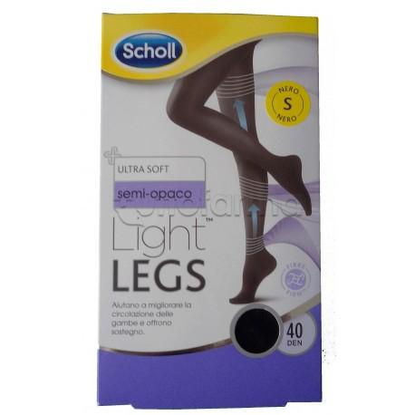 Scholl Light Legs Collant Contenitivi 40 Denari Nero Taglia S