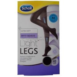 Scholl Light Legs Collant Contenitivi 40 Denari Nero Taglia M
