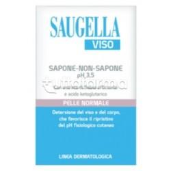 Saugella Viso Sapone-Non-Sapone pH 3.5 per Pelli Normali 100g