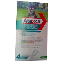 Ataxxa Antiparassitario per Cani da 4kg a 10kg 4 Pipette Spot-On (Equivalente Advantix)