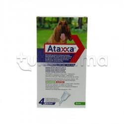Ataxxa Antiparassitario per Cani oltre 25kg 4 Pipette Spot-On
