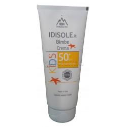Idisole Bimbo Crema Solare 50+ per Bambini 200ml