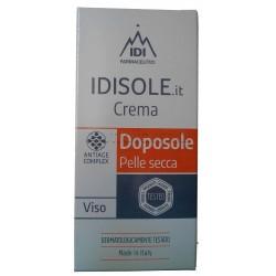 Idisole Crema Doposole per Viso Pelle Secca 50ml