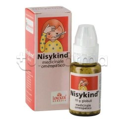 Homeokind Nisykind Medicinale Omeopatico Globuli 10g