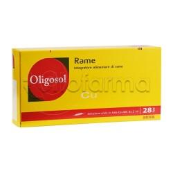 IMO Labcatal Oligosol Oligoelementi Rame 28 Fiale da 2 ml