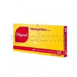 IMO Labcatal Oligosol Oligoelementi Manganese 14 Fiale da 2 ml