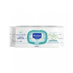 Mustela Stelatopia Salviette Detergenti Relipidanti 50 Pezzi