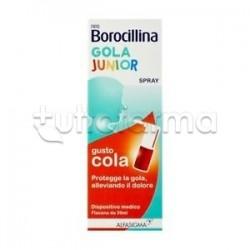 NeoBorocillina Gola Junior Spray Gusto Cola per Mal di Gola