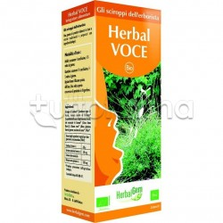 Herbalgem Herbal VOCE per Corde Vocali Flacone Sciroppo 150ml