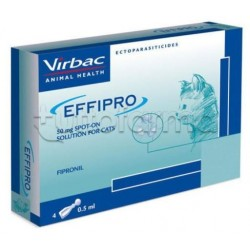 Effipro 4 Pipette Spot-On per Gatti 50mg