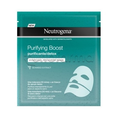 Neutrogena Purifying Boost Maschera Hydrogel Purificante 30ml