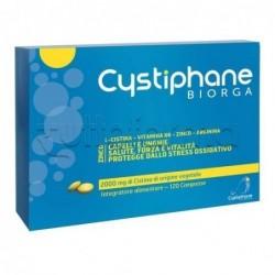 Cystiphane Integratore Alimentare per Capelli e Unghie 120 Compresse