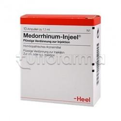Medorrhinum Injeel Heel Guna 10 Fiale Medicinale Omeopatico 1,1ml