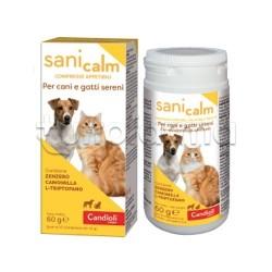 Sani Calm Integratore per Cani e Gatti 50 Compresse