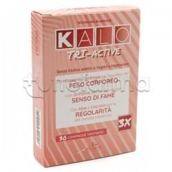 Kalo Tri-Active Integratore per Controllo del Peso 30 Compresse